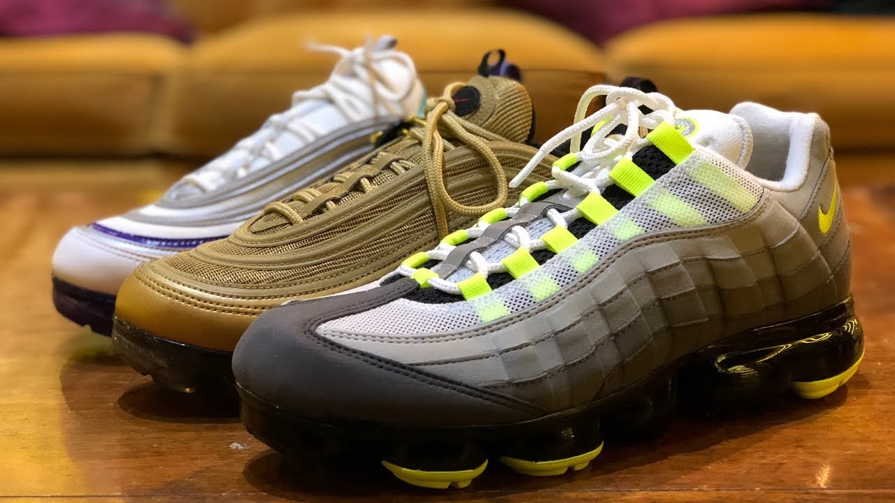 wholesale dealer 73818 d0a4d SNEAKER SHOPPING RAMPAGE  Nike Air Vapormax 95, Converse Hello Kitty (lol),  and More!
