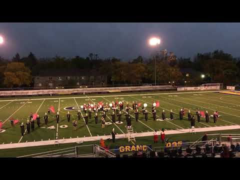 """Everett High School Marching Band at Grand Ledge Exhibition: """"Dancing In The Streets"""""""