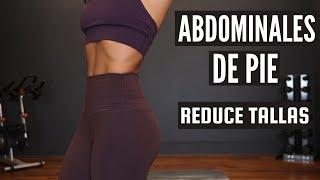 Abdominales de pie   Ejercicios para Reducir Cintura y Abdomen / Fitness by Vivi