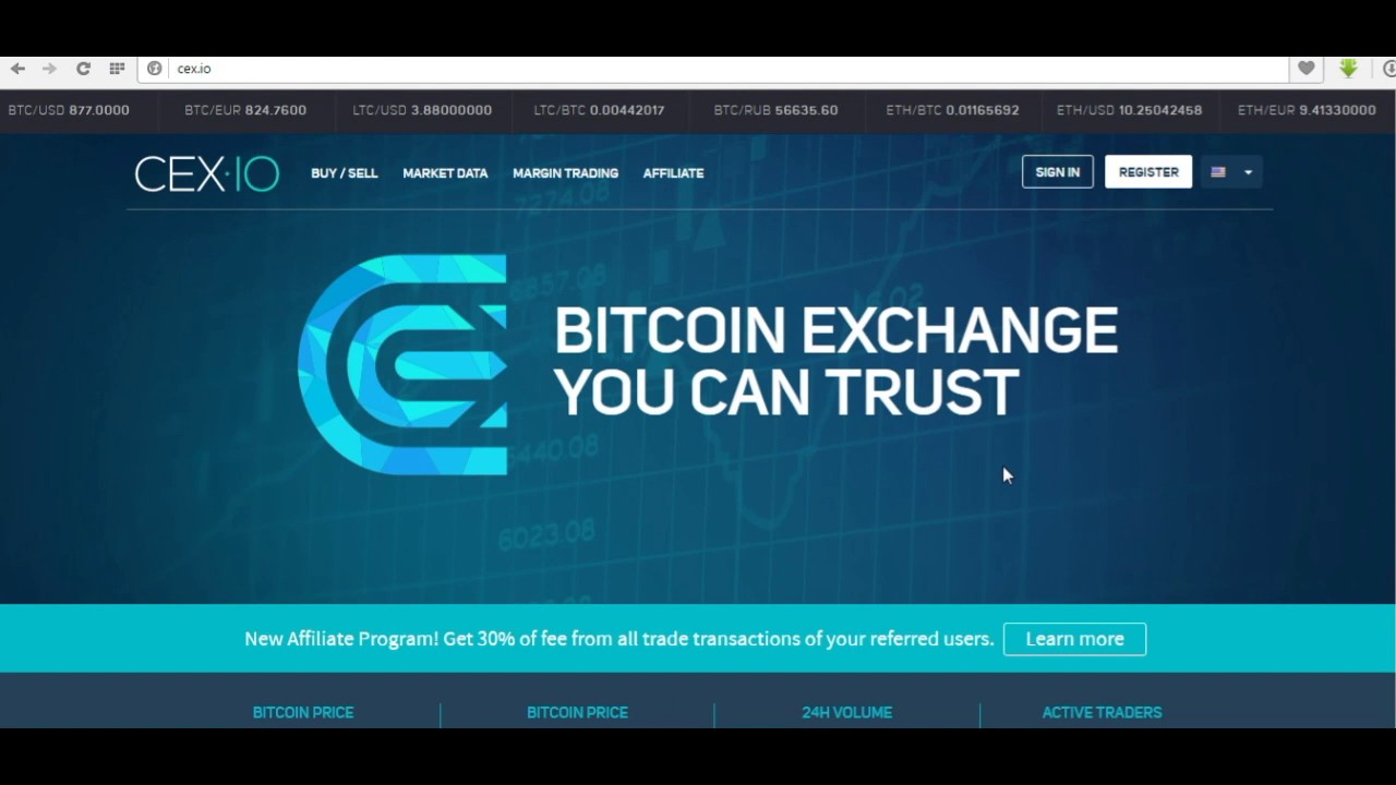 cex io how to send bitcoin to wallet