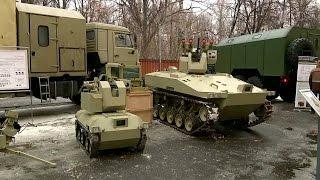 Новое оружие Росгвардии. Боевые роботы.