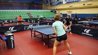 Ананьева В. (288) 3-0 Елисеева Е. (0) игра за 3 место