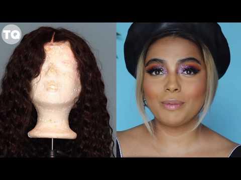 DIY: Bleaching Deep Wave Human Wig  TALI QUINDIO