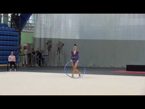 Adelina Beljaeva hoop junior Eesti KV 2018