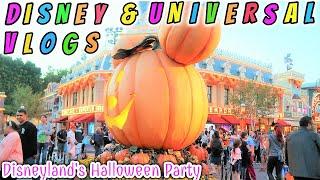 DISNEYLAND HALLOWEEN PARTY & ANAHEIM HOTEL TOUR | DISNEY & UNIVERSAL VLOGS 2018
