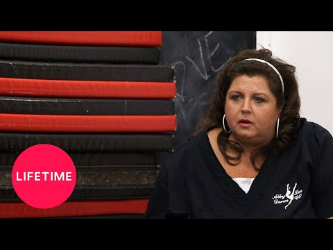 Dance Moms: Abby Interrupts Chloe's Practice to Show Off Maddie (Season 2 Flashback) | Lifetime