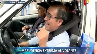 Contra el tráfico: imprudencia extrema al volante