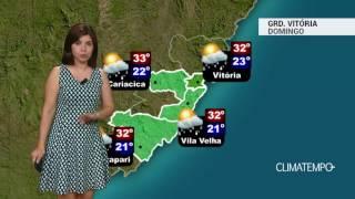 Previsão Grande Vitória – Chuva pode ser forte