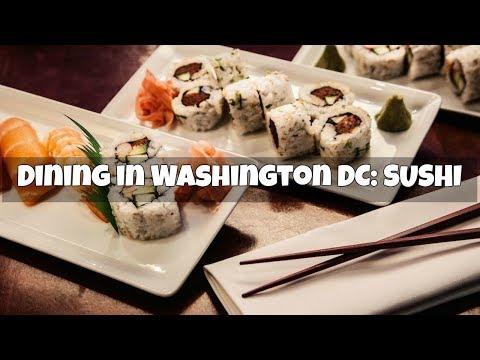 Dining in Washington Dc: Nooshi Restaurant