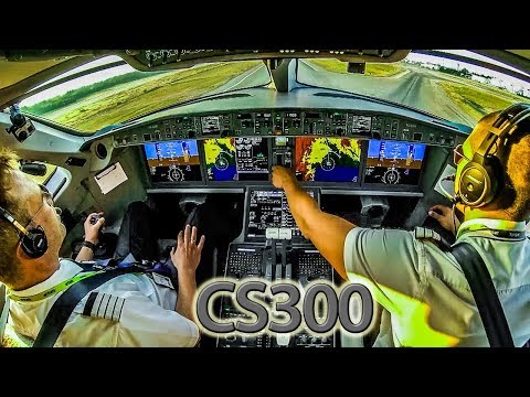 Piloting the Bombardier CSeries out of Antalya