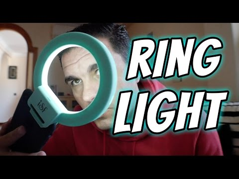 Ring light para smartphone