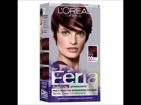 L Oreal Paris Feria Rebel Chic Permanent Haircolor Deep Burgundy 1 Ea