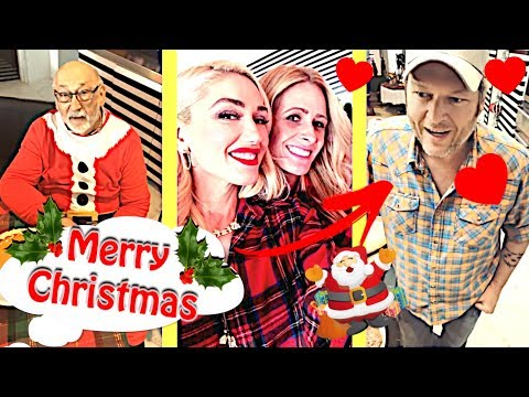 Gwen Stefani & Blake Shelton - Christmas With Family 2018 (1)😍🎅🎀