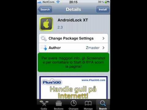 How Download AndroidLock XT For All IDivices
