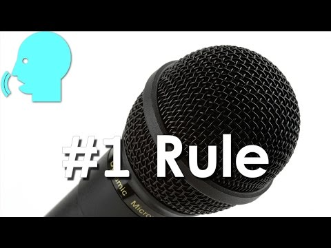 The #1 Rule of Vocal Recording