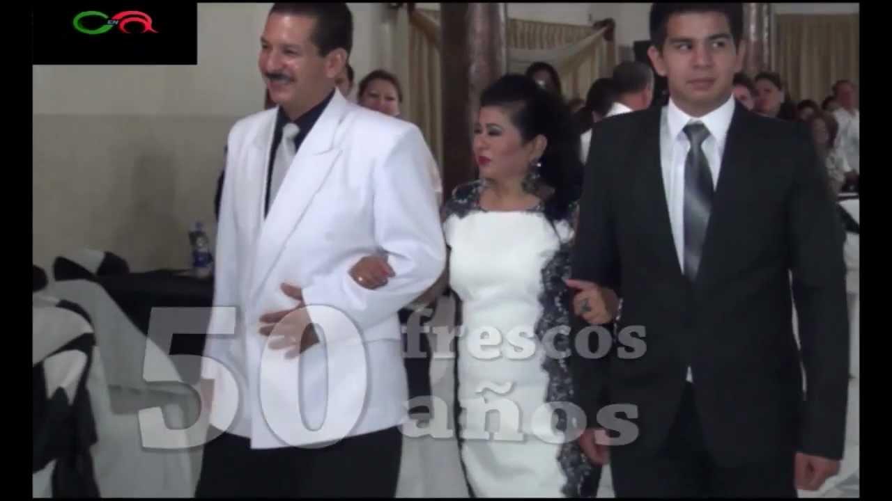 122375ed7a FIESTA TEMÁTICA AL ESTILO BLANCO Y NEGRO Margarita en sus 50 años - YouTube