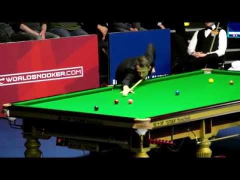 Judd Trump's 147 break at the German Masters 2015