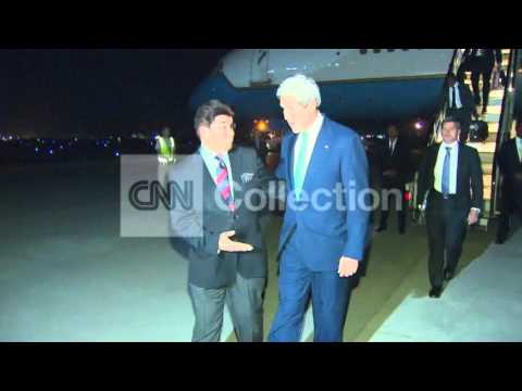 AFGHANISTAN:US SECY STATE KERRY ARRIVAL IN KABUL
