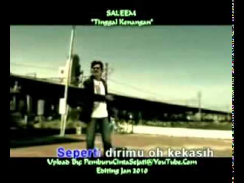Karaoke- Saleem-Tinggal Kenangan .flv