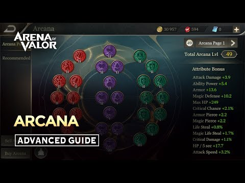 01 Arcana – Arena of Valor