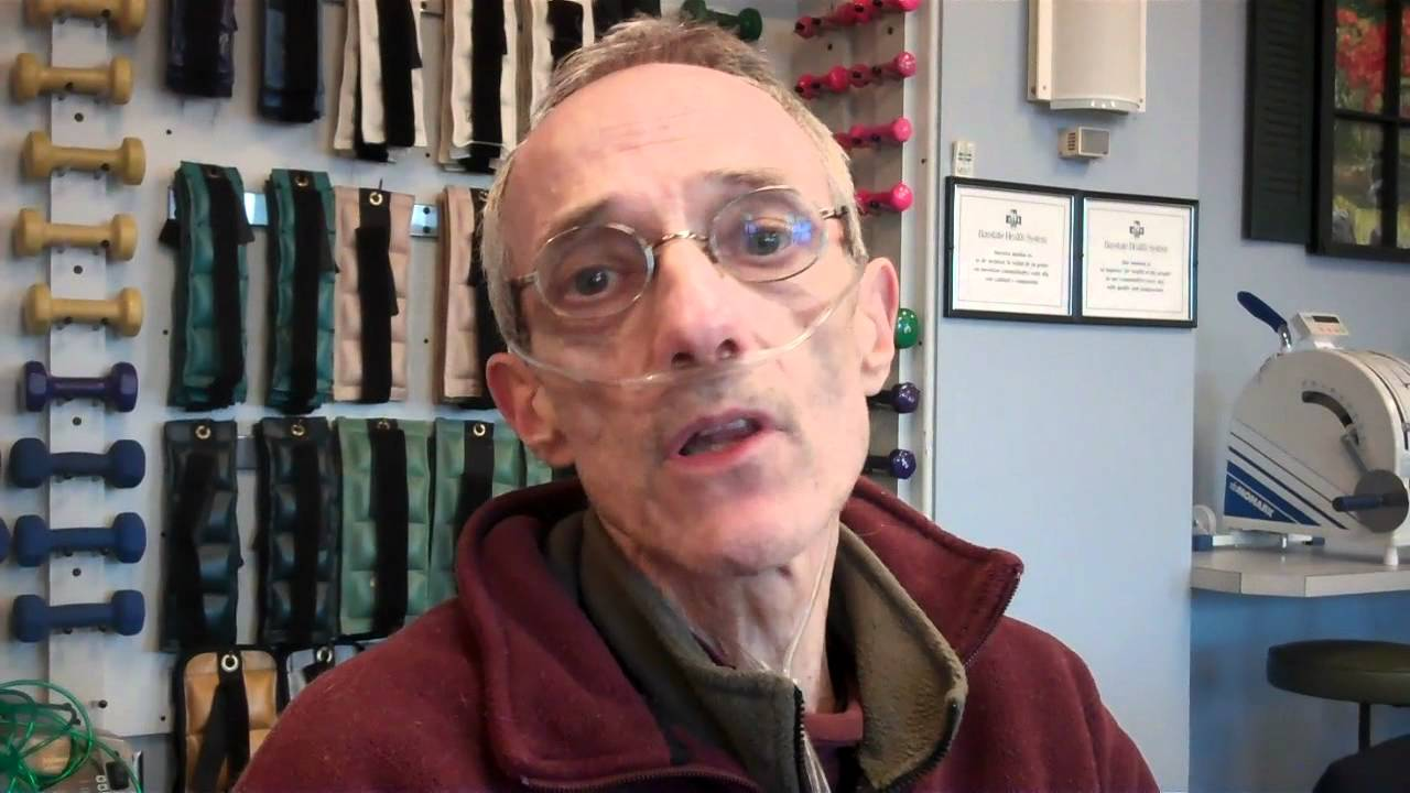 Patient With Severe Copd Youtube