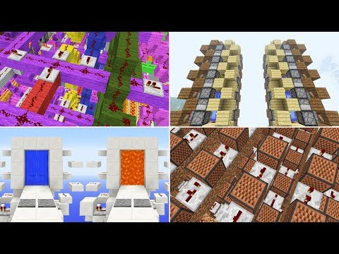 Minecraft : A Retrospect Of My Redstone Creations