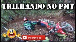 TRILHA DE MOTO | MONTE ALEGRE DO SUL - SP | TRILHANDO NO PMT