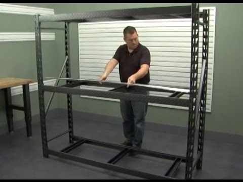 Gladiator Installation Heavy Duty Steel Rack Shelving