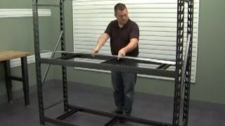 Gladiator Installation - Heavy Duty Steel Rack Shelving