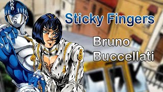 Скачать Sticky Fingers Bruno Buccellati JJBA Musical Leitmotif
