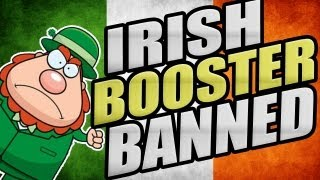 Irish Booster Gets BANNED - Call Of Duty Trolling