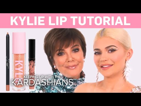 KUWTK | Kylie Jenner Does a Makeup Tutorial on Kris! | E! thumbnail