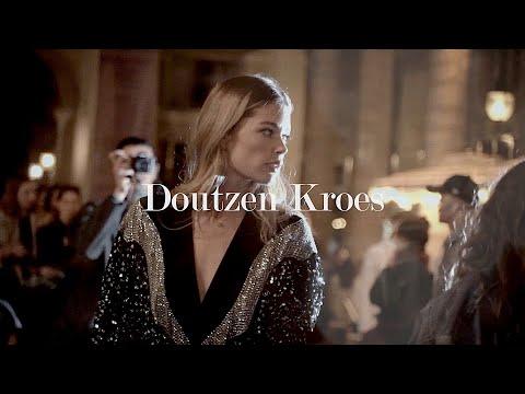 DOUTZEN KROES Paris Fashion Week BTS at Isabel Marant Show SS20 | Jeffrey Lin Media