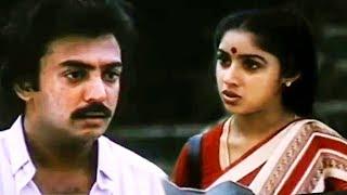 Mouna Ragam Movie Climax Scenes # Tamil Movie Best Scenes # Mohan & Revathy Best Acting Scenes