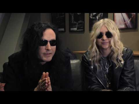 The Pretty Reckless interview - Taylor and Ben