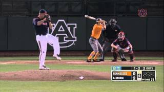 Auburn Baseball vs Tennessee Game 2 Highlights