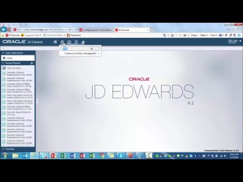 Outbound Inventory Management in JD Edwards EnterpriseOne 9.2