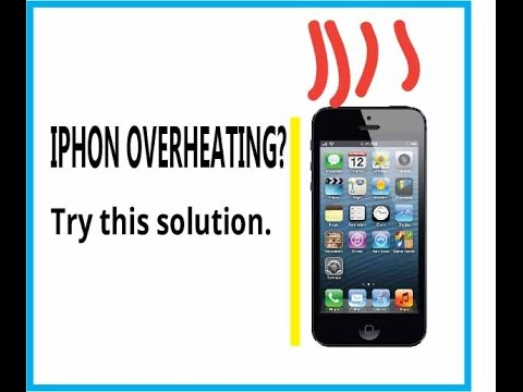 IPHONE overheating problem solved - YouTube