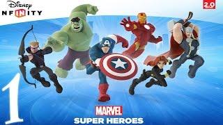 Прохождение Disney Infinity 2.0 Мстители Часть 1