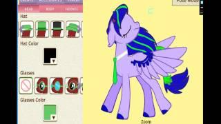 8 поз /pony creator v3