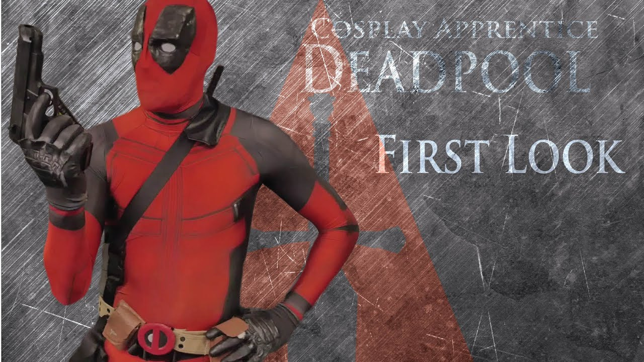 How to make deadpool costume first look youtube how to make deadpool costume first look solutioingenieria