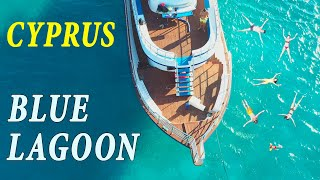 Blue Lagoon 2020 Akamas Pafos Cyprus Aerial View Yacht Tour