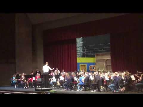 Spanishburg school band concert