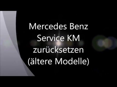 Mercedes benz serviceintervall zur cksetzen text youtube for Mercedes benz text