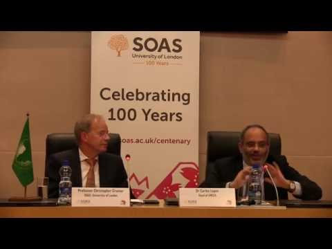 SOAS Centenary Lecture - How Big is Africa? Dr Carlos Lopes SOAS University of London
