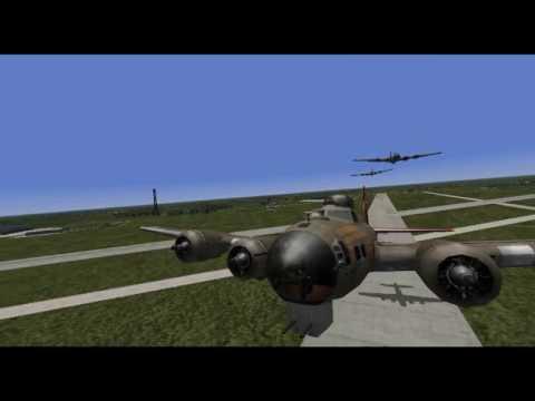 Random B-17 bombing mission (circa August 1944)(custom-made)