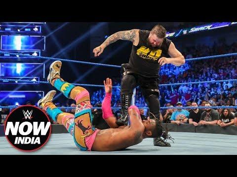 Kevin Owens betrays Kofi Kingston & Xavier Woods: WWE Now India