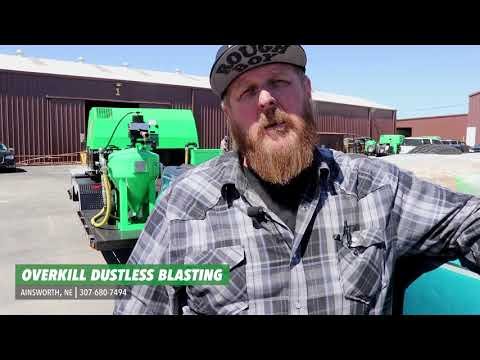 New Dustless Blasting owner talks about how easy it was to line up jobs!