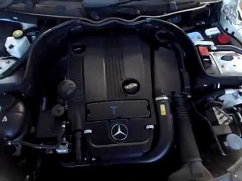 M18957 W204 C250CGI M271.860 1.8L TURBO 4CYL 2011 ENGINE TESTING