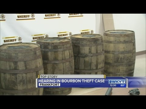 Couple accused in Franklin County Bourbon theft ring back in court